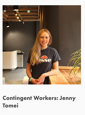 Contingent Works Interview - Blog