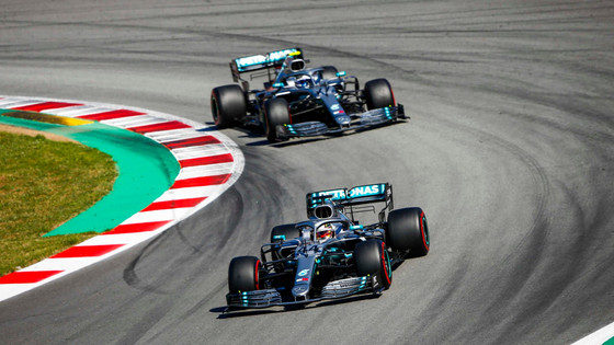 HAMILTON MAKES IT SIX IN SPAIN