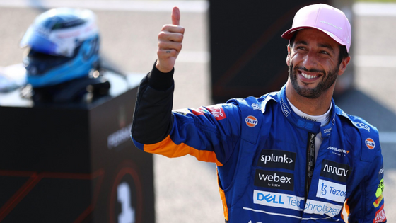 RICCIARDO WINS IN ITALY - THE FIRST MCLAREN VICTORY IN 9 YEARS