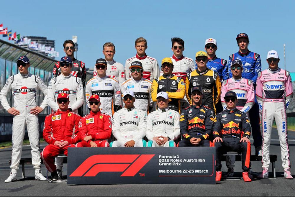 F1 Class of 2018