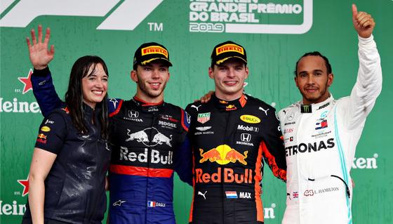 VERSTAPPEN WINS CHAOTIC BRAZILIAN RACE