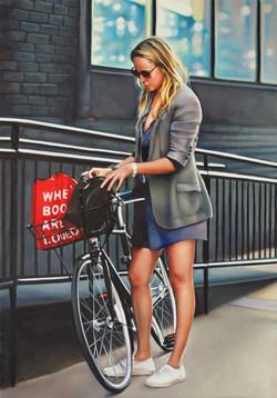 She Loves to Read & Bike