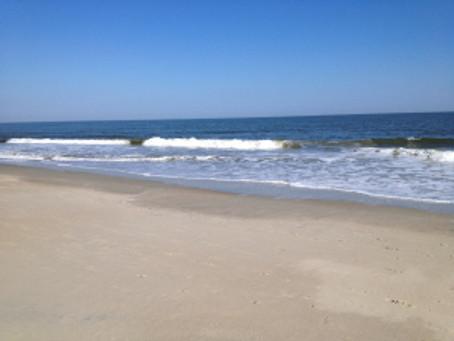 Mermaids Who Create Retreat: Part 3, Wherein Laura Gets to Ride Her Bike On The Beach