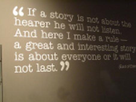 The Scholarship of Storytelling