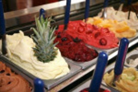 yummy gelato (Italian ice cream)