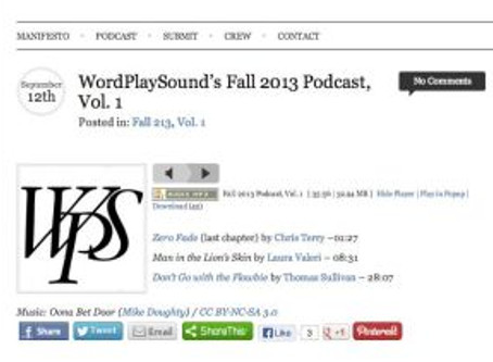 Chapter One is on Podcast at WordPlaySound