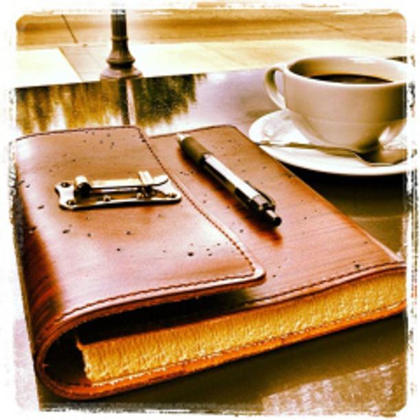 Notebookandcoffee