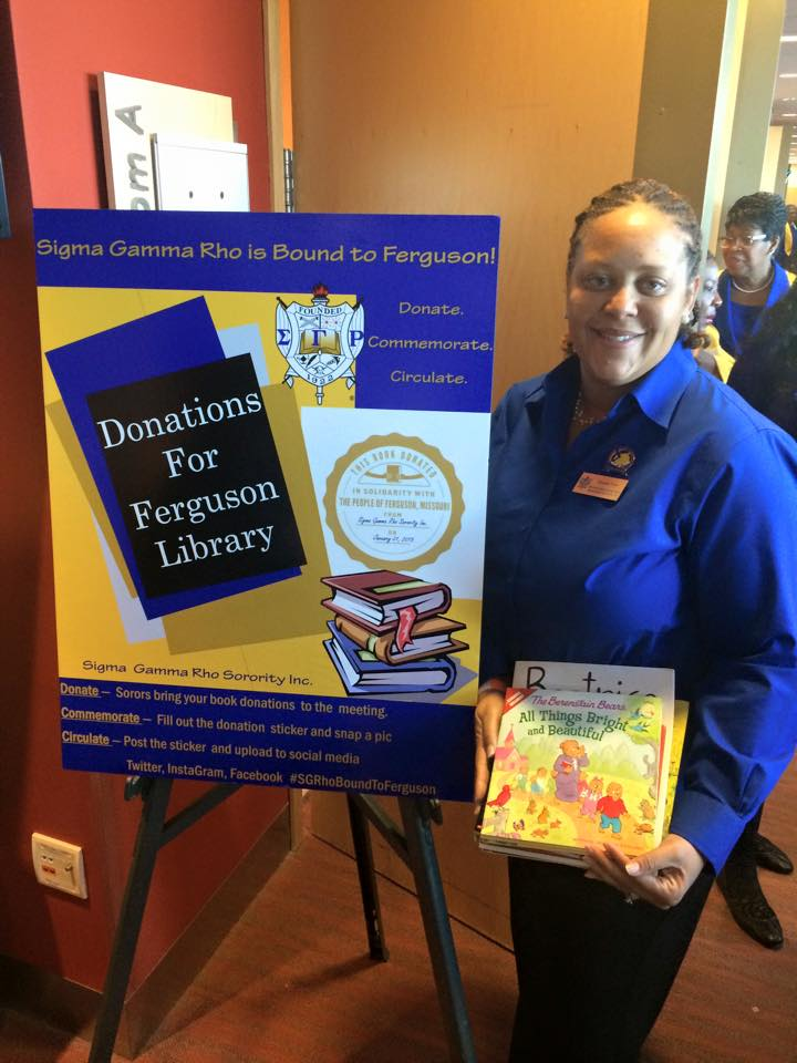 Book Drive for Ferguson Library