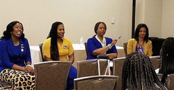 Shout out to BOS Soror Ronada Hewitt for
