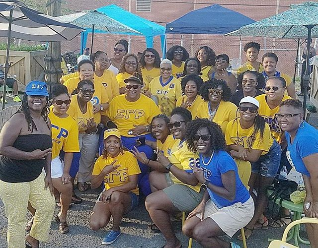 Come through, Sorors! Come through! Just look for the sunshine! #QueenCityNCSGRho #SigmaGammaRho #SG