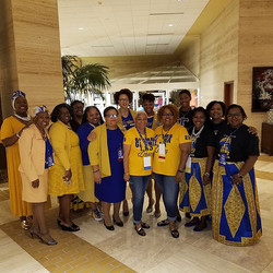 Sigma is TRADITION! BOS Sorors represent