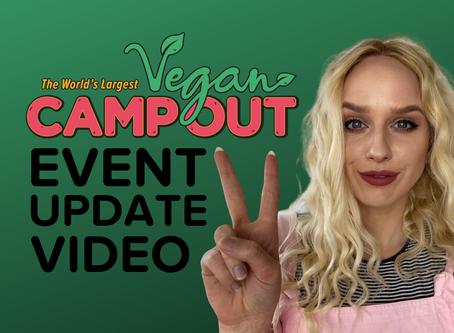 Vegan Camp Out Latest Covid-19 Update