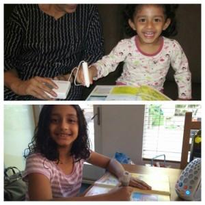 我的女兒Ava熱愛閱讀,更是充滿創意的小思想家,我相信是她很早接觸ETL學習系統的原因。