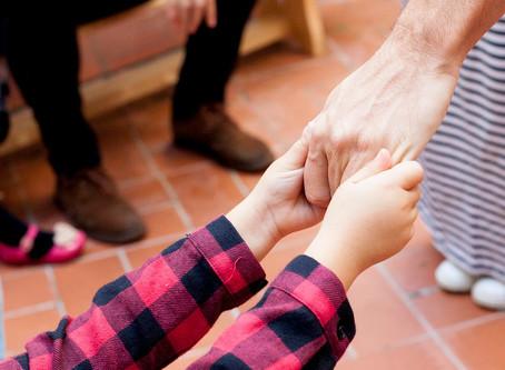 Las huellas positivas en los niños y niñas