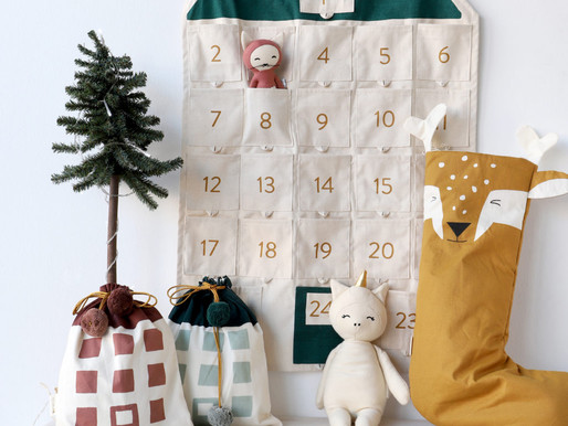 Calendario de Adviento más sostenible