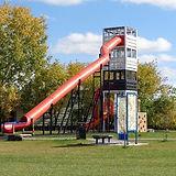 big red slide