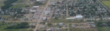 town aeriel view