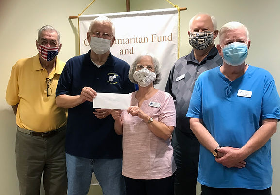 New England Club donates to Samaritan Fu
