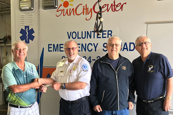 2018 donation to Emergency Squad Marty G