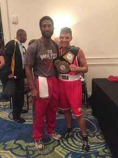 2015 National Golden Gloves Champion