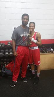 2016 South Carolina Golden Gloves Champion