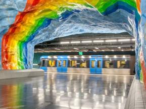 Metropolitana di Stoccolma:                   Le Stazioni più belle da vedere e fotografare