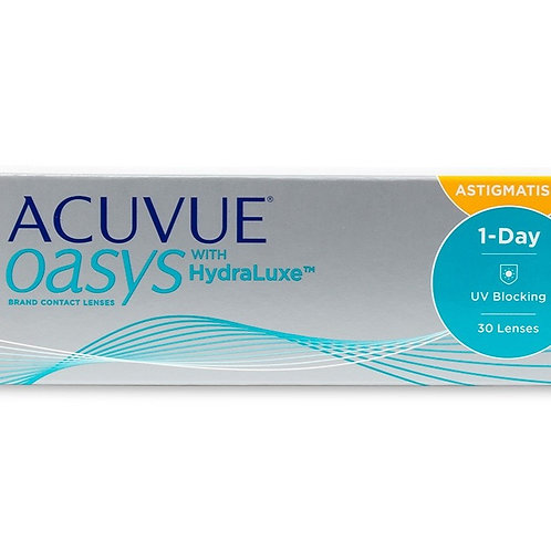 Acuvue 1 Day Oasys with Hydraluxe for Astigmatism