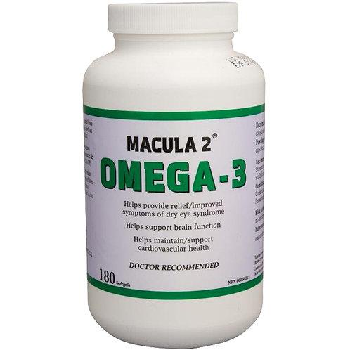 Macula 2 Omega-3 180 capsules