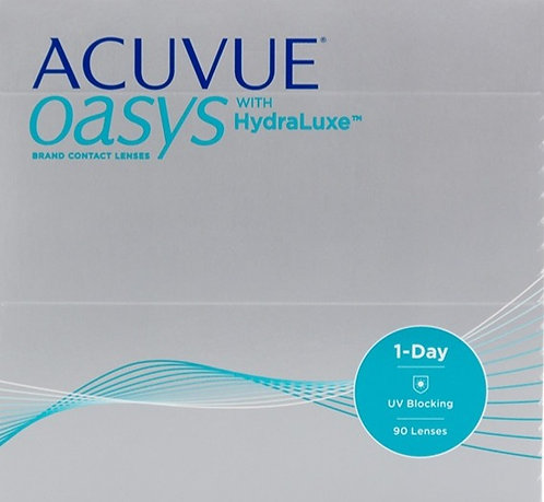 Acuvue 1 Day Oasys with HydraLuxe