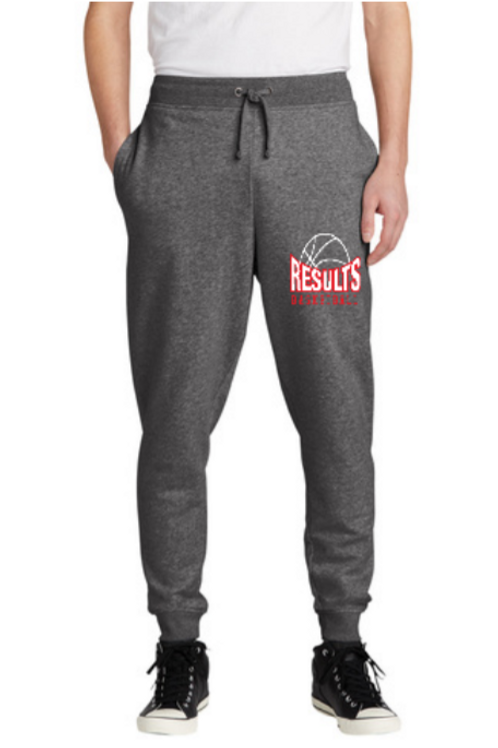 RESULTS Joggers (Grey)