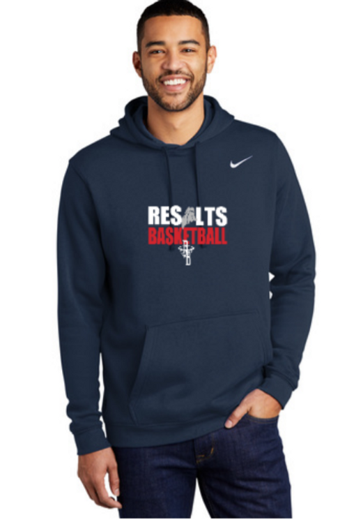 RESULTS Nike Club Hoodie (Navy)