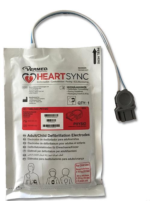Defibrillation/Pacing pads