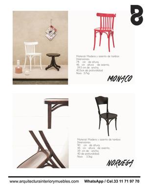Muebles para restaurantes y bares