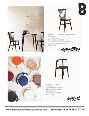 Muebles para cafeteria