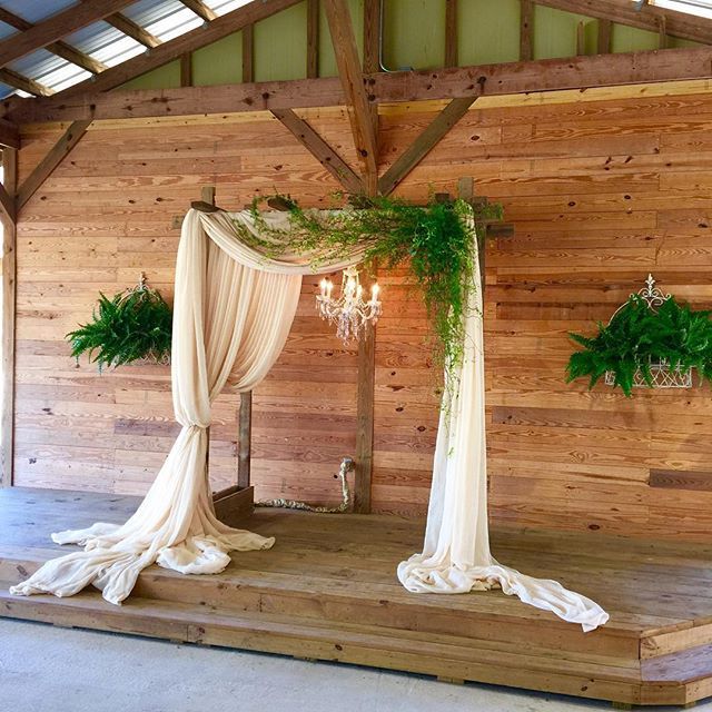 Ceremony & Backdrop Draping