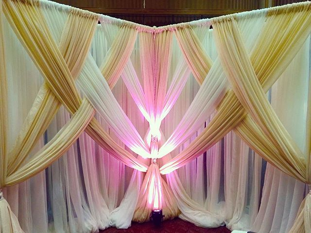 Custom Designed Backdrop