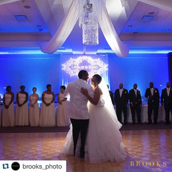 Ceiling Draping and Backdrop