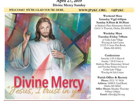 4/27 Parish Bulletin