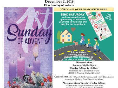 12/2 Parish Bulletin