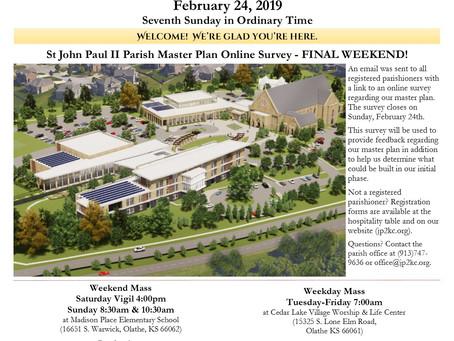 2/24 Parish Bulletin