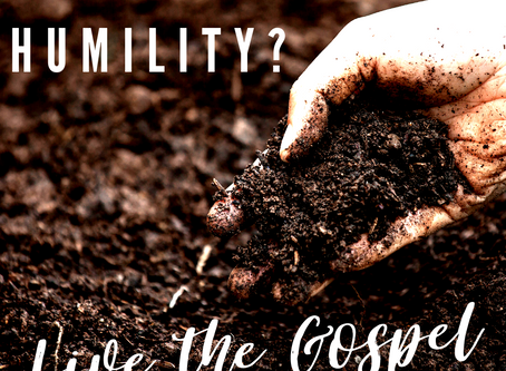 Live the Gospel with Humility!