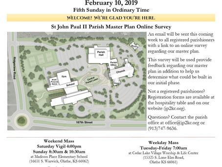 2/10 Parish Bulletin
