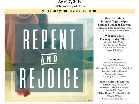 4/7 Parish Bulletin