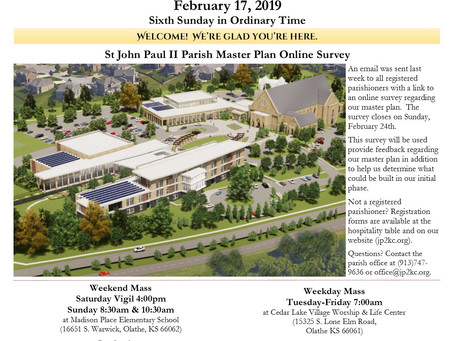 2/17 Parish Bulletin