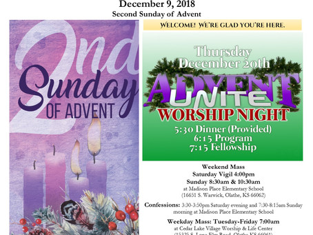 12/9 Parish Bulletin