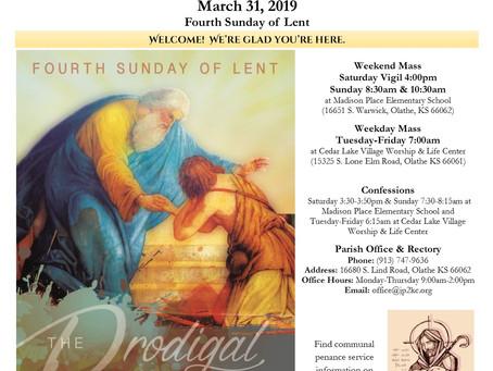 3/31 Parish Bulletin