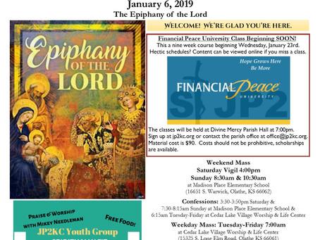 1/6 Parish Bulletin