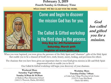 2/3 Parish Bulletin