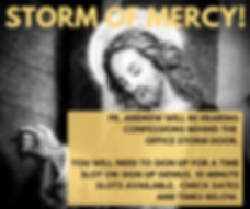 5_30 to 7_30 confession at Divine Mercy