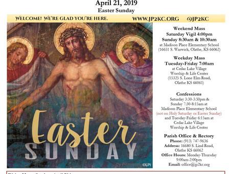4/21 Parish Bulletin